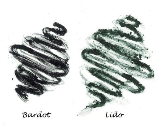bardot and lido scribbles