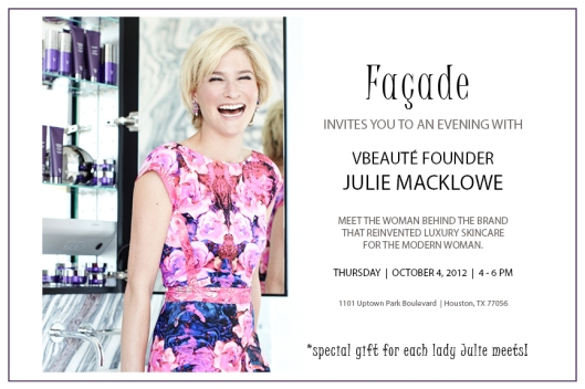 V beaute Event at Facade