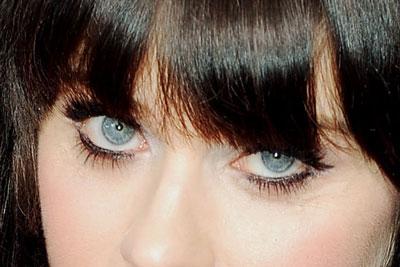 zooey deschanel eye makeup tutorial uptown girl of