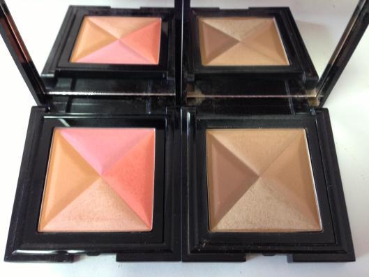 DDP sunrise blush and sunset bronzer