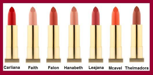 Kevyn Aucoin expert lipsticks