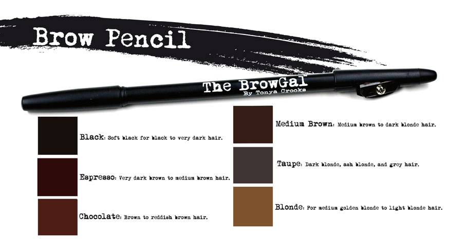 Brow pencils for red hair
