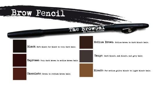 brow gal brow pencils