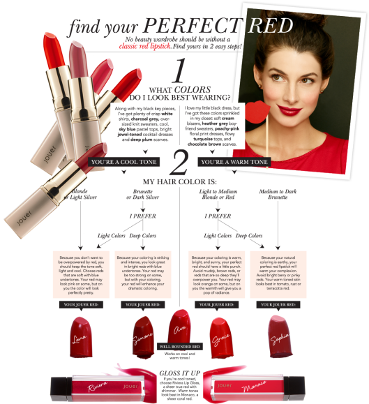 find your perfect jouer red